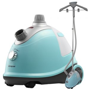 this is the blue garment steamer