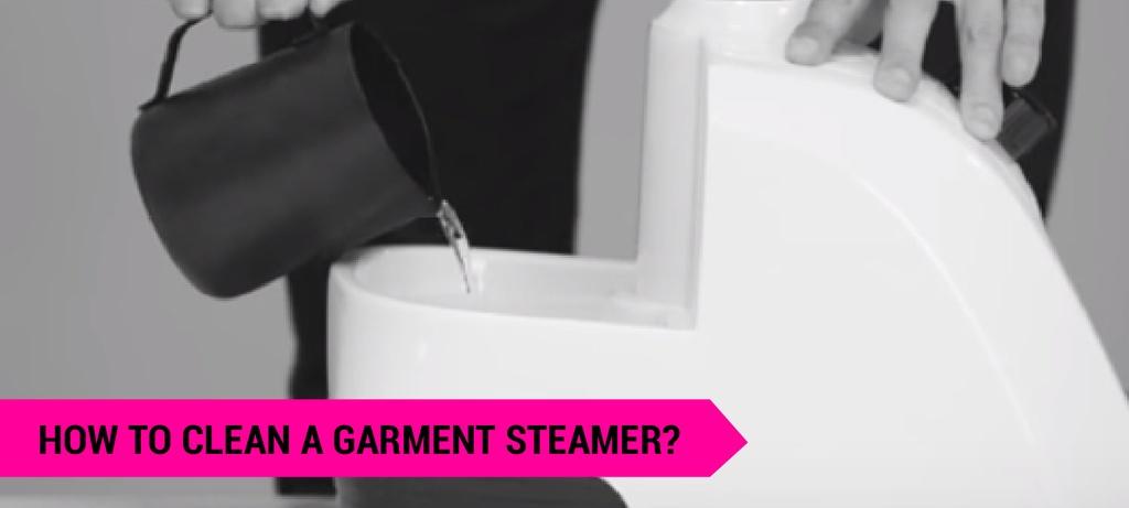 how to clean a garment steamer